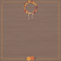 Thanksgiving: Happy Thanksgiving 12 x 12 Paper