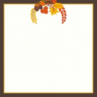 Thanksgiving: I'm Thankful For 12 x 12 Paper