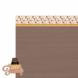 Thanksgiving: Together with Family 2 Piece Laser Die Cut Kit