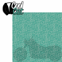 The 50's: Cool Cat 2 Piece Laser Die Cut Kit