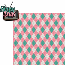The 50's: Happy Days 2 Piece Laser Die Cut Kit