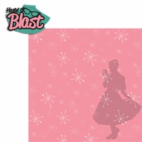 The 50's: Havin' A Blast 2 Piece Laser Die Cut Kit