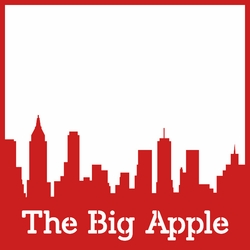 The Big Apple 12 x 12 Overlay Laser Die Cut
