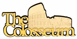 The Colosseum Laser Die Cut