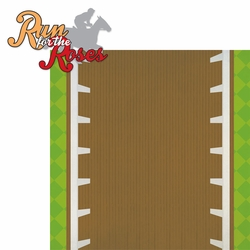The Derby: Run for the Roses 2 Piece Laser Die Cut Kit