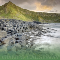 The Emerald Isle: Giants Causeway 12 x 12 Paper