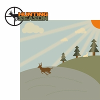 The Hunter: Hunting Season 2 Piece Laser Die Cut Kit