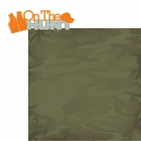 The Hunter: On The Hunt 2 Piece Laser Die Cut Kit
