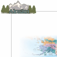 The Last Frontier: Alaska 2 Piece Laser Die Cut Kit