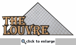 The Louvre Laser Die Cut