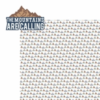 The Mountains: Mountains are Calling 2 Piece Laser Die Cut Kit