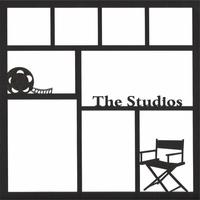 The Studios 12 x 12 Overlay Laser Die Cut