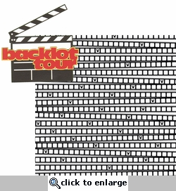 The Studios: Backlot Tour  2 Piece Laser Die Cut Kit