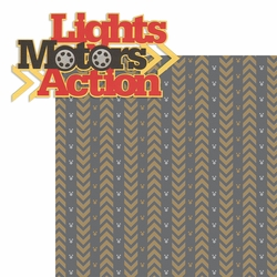2SYT The Studios: Lights Motor Action  2 Piece Laser Die Cut Kit