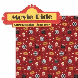The Studios: Movie Ride  2 Piece Laser Die Cut Kit