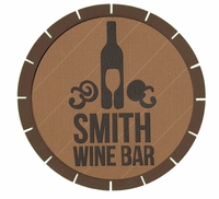 The Winery: Custom Wine Die Cut