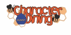 Theme Park: Character Dining With Friends From The 100 Acre Wood Laser Die Cut