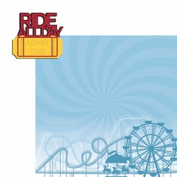 Theme Park: Ride All Day 2 Piece Laser Die Cut Kit