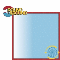 Theme Park: Round and Round 2 Piece Laser Die Cut Kit