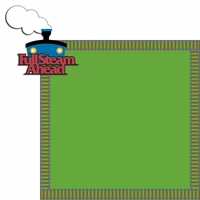 Thomas Train: Full Steam 2 Piece Laser Die Cut Kit