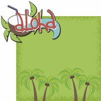 Tiki Bar: Aloha 2 Piece Laser Die Cut Kit