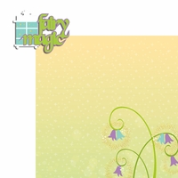 Tink: Fairy Magic 2 Piece Laser Die Cut Kit