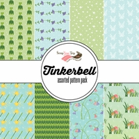 Tinkerbell Assorted 12 x 12 Paper Pack
