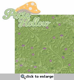 Tinkerbell: Pixie Holllow 2 Piece Laser Die Cut Kit