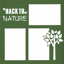 To Nature 12 x 12 Overlay Laser Die Cut
