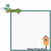 Together: Family 2 Piece Laser Die Cut Kit