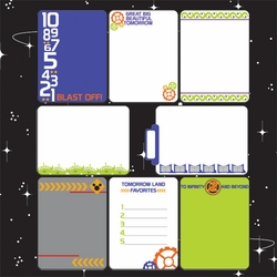 1SYT Tomorrow Land: 12 x 12 Journaling Cards