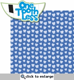 Tooth Fairy: One Tooth Less 2 Piece Laser Die Cut Kit