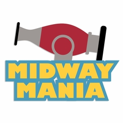 Toy Story: Midway Mania Laser Die Cut