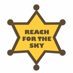 Toy Story: Reach for the Sky Laser Die Cut