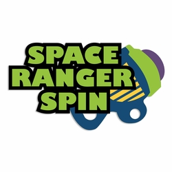 Toy Story: Space Ranger Spin Laser Die Cut