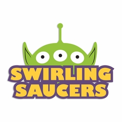 Toy Story: Swirling Saucers Laser Die Cut