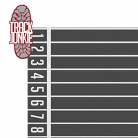 Track Star: Track Junkie 2 Piece Laser Die Cut Kit