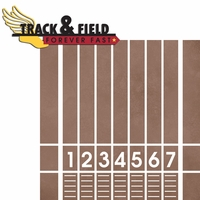 Track: Track and Field 2 Piece Laser Die Cut Kit