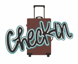 Travel: Check-in Laser Die Cut