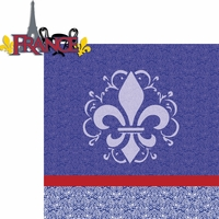 Travel The World: France 2 Piece Laser Die Cut Kit