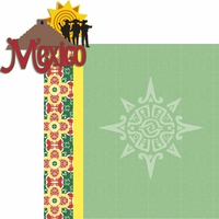 Travel The World: Mexico 2 Piece Laser Die Cut Kit