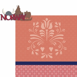 Travel The World: Norway 2 Piece Laser Die Cut Kit