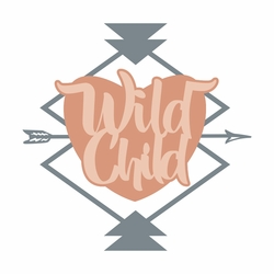 2SYT Tribal: Wild Child Laser Die Cut