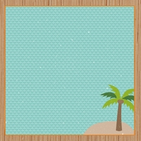 Tropical Delight: Island Life 12 x 12 Paper