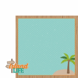 Tropical Delight: Island Life 2 Piece Laser Die Cut Kit