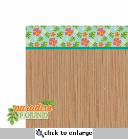 Tropical Delight: Paradise Found 2 Piece Laser Die Cut Kit