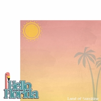 Tropical: Hello Florida 2 Piece Laser Die Cut Kit