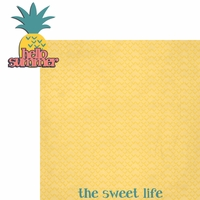 Tropical: Hello Summer 2 Piece Laser Die Cut Kit
