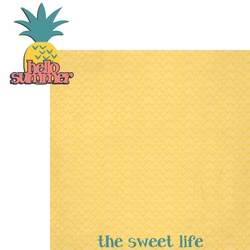 2SYT Tropical: Hello Summer 2 Piece Laser Die Cut Kit