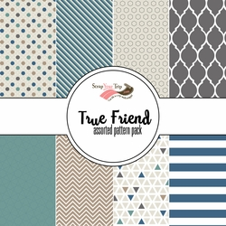 True Friend True Friend Assorted 12 x 12 Paper Pack